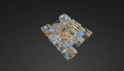 The Green Plus Floor Plan 3D Model