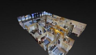 The Cameron Model Home 3D Model